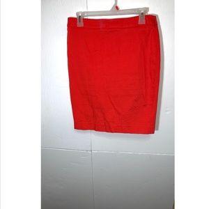 Susan Bristol Pencil Mini Skirt Zip Up